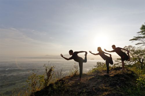 HATHA YOGA ABOVE THE CLOUDS