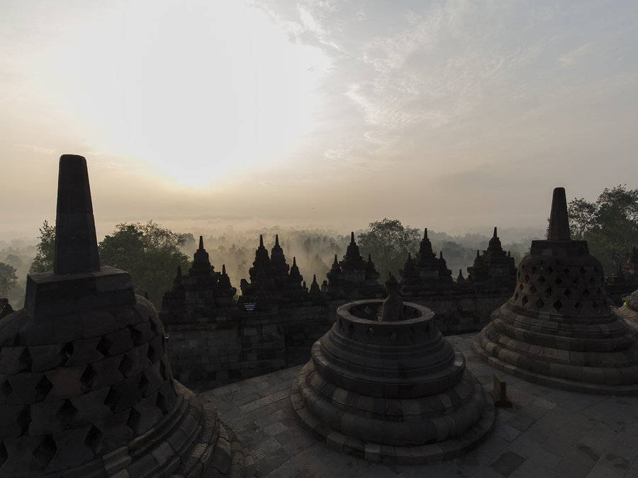 The Glory Of Borobudur