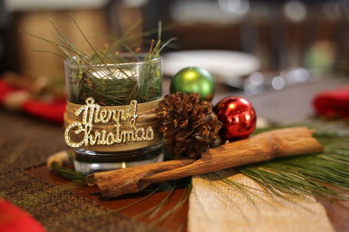 White Christmas Eve Dinner