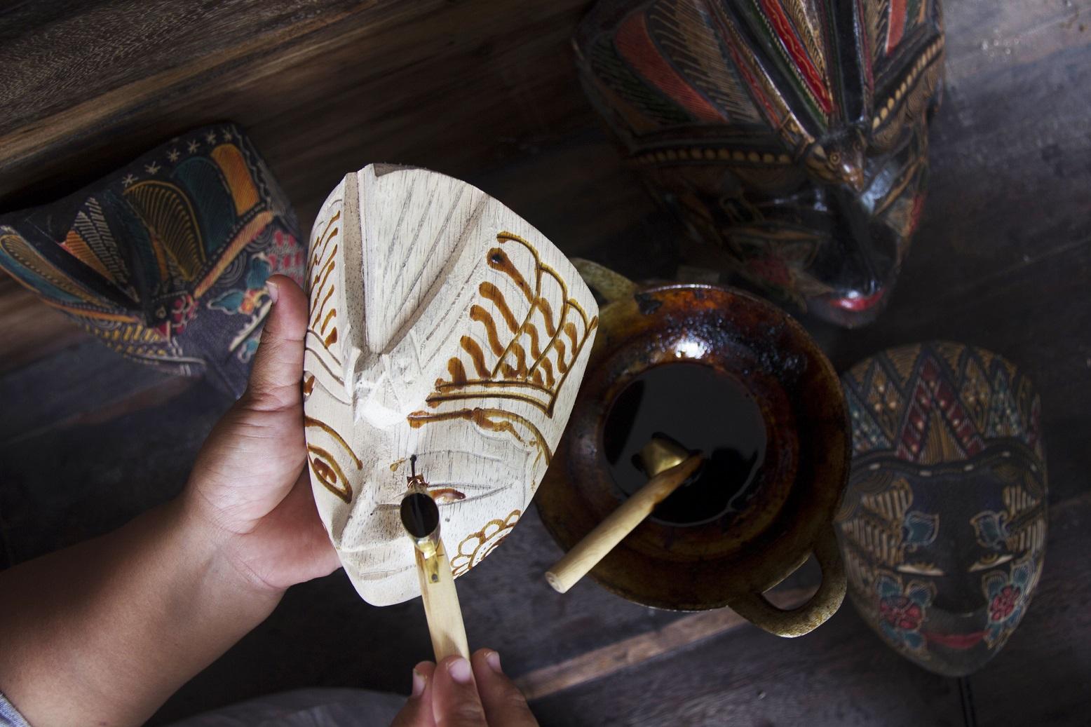 Batik Mask Painting
