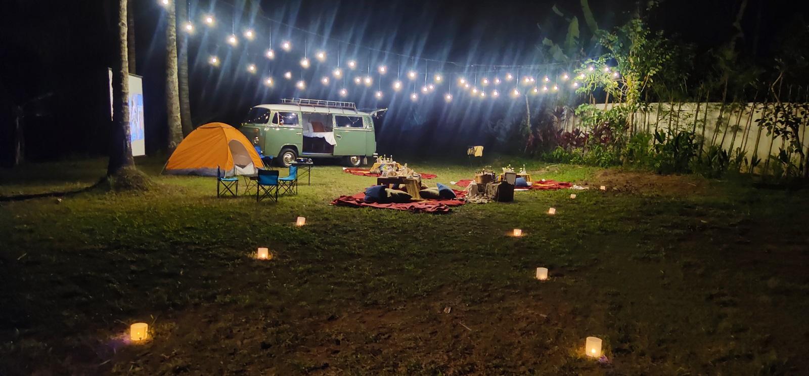 Campervan Picnic Under The Stars