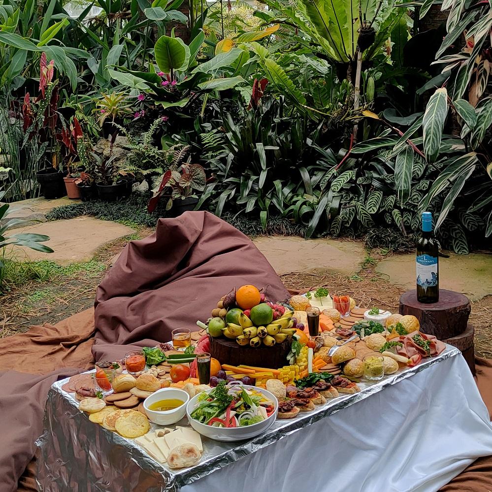 Picnic Grazing Platter at Jiva Devi Nursery