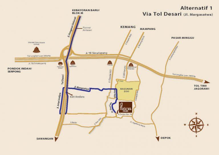 Via Tol Desari (Jl Margasatwa)