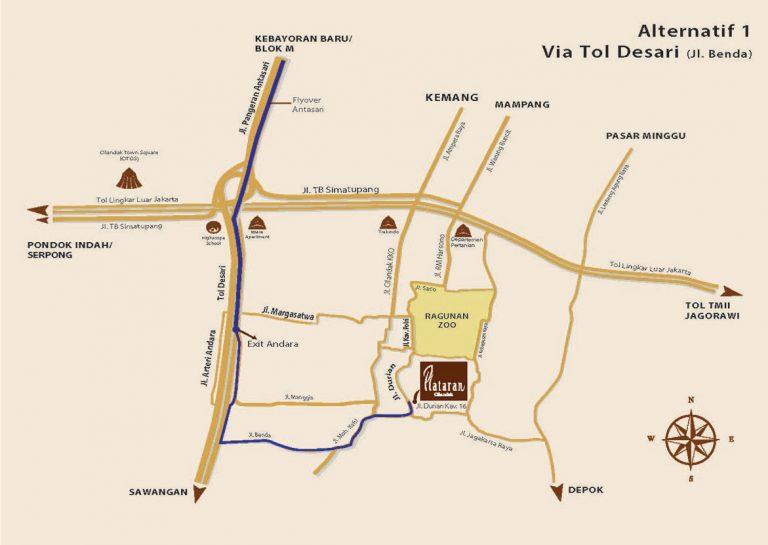 Via Tol Desari (Jl Benda)