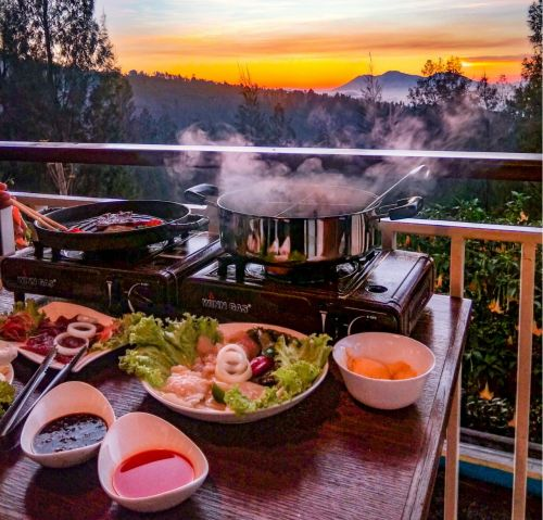 Volcanic Steamboat and Grill