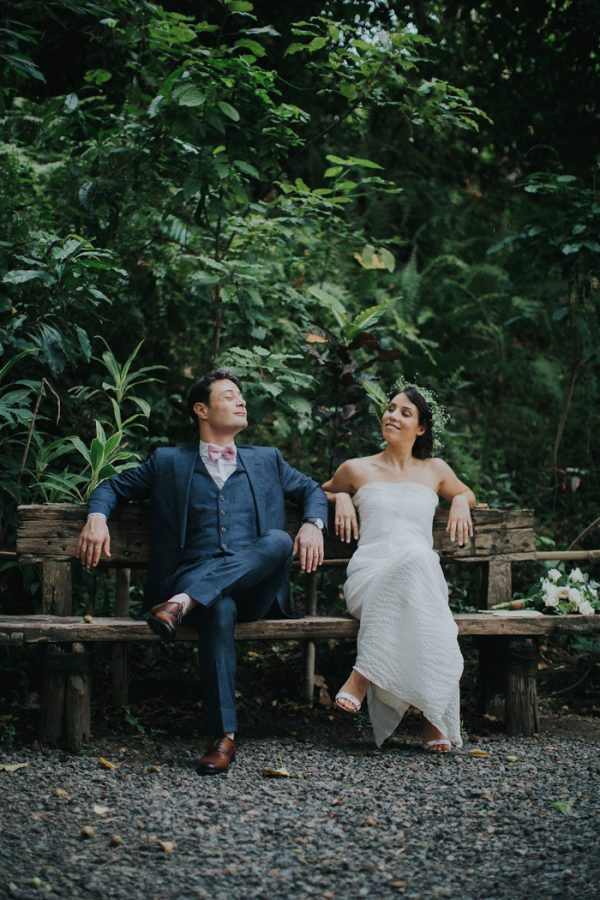 Blush And Gold Bali Garden Wedding At Plataran Canggu Resort And Spa