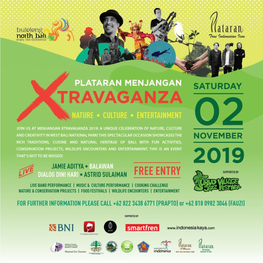 Plataran Menjangan Xtravaganza 2019: Millennials For The Forest