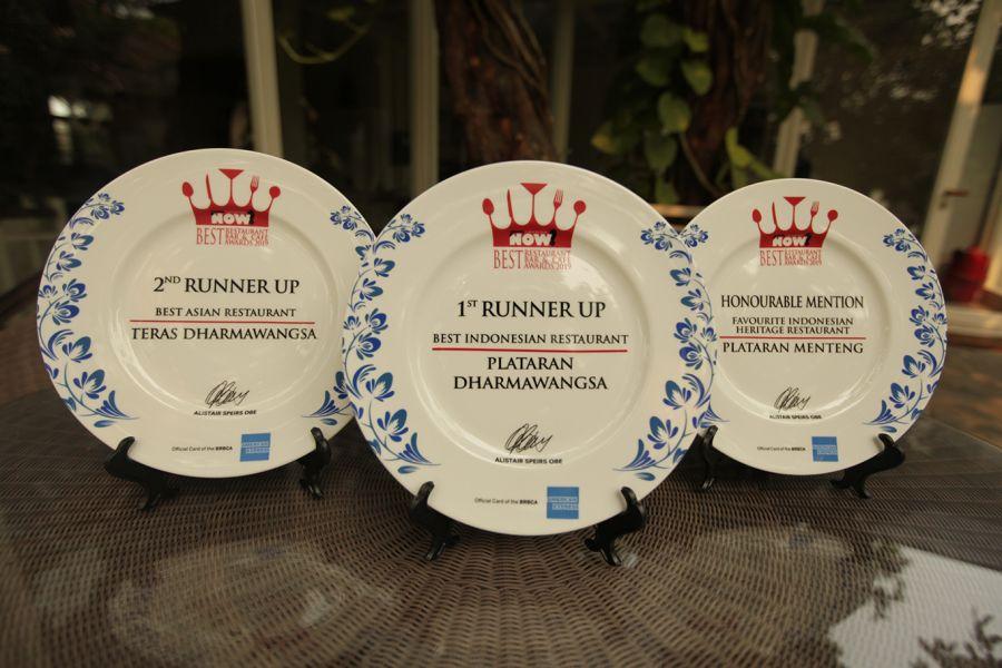 Plataran Receive Awards At The Best Restaurant, Bar, And Café Awards (BRBCA) 2019