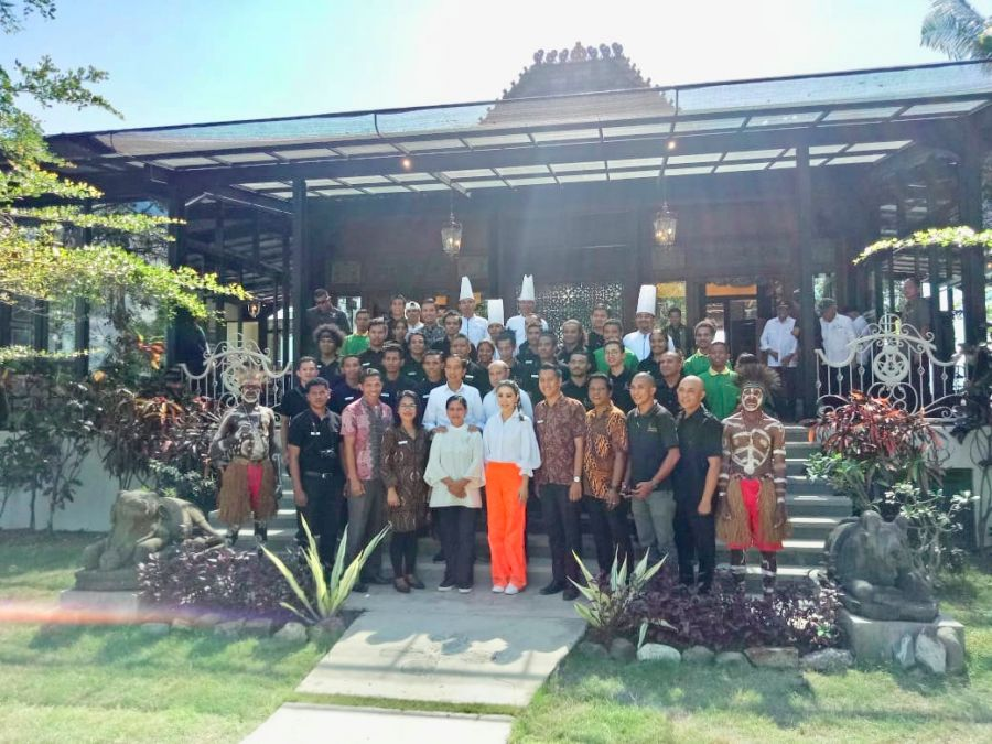 President Joko Widodo Visits Labuan Bajo