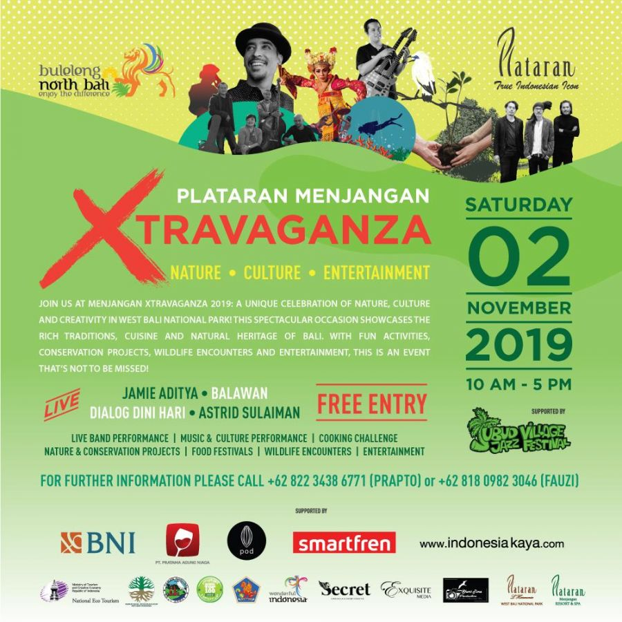 Plataran Menjangan Xtravaganza 2019 Millennials For The Forest