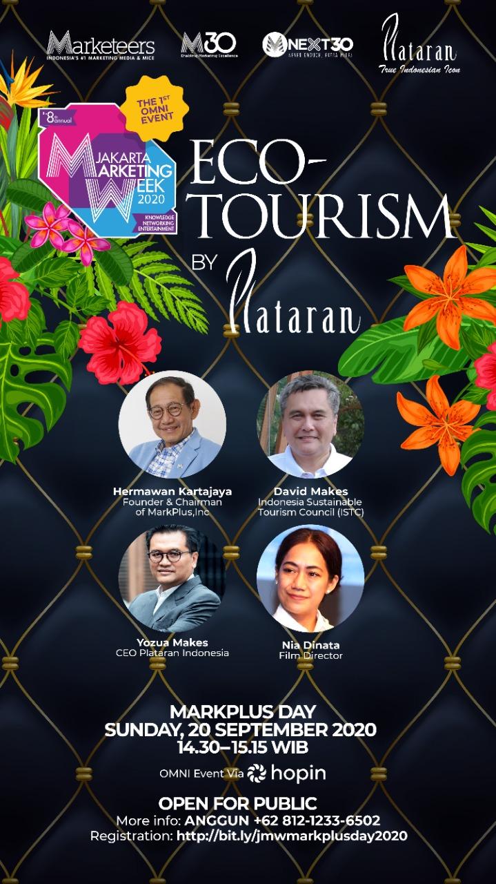Eco-Tourism by Plataran on Jakarta Marketing Week 2020