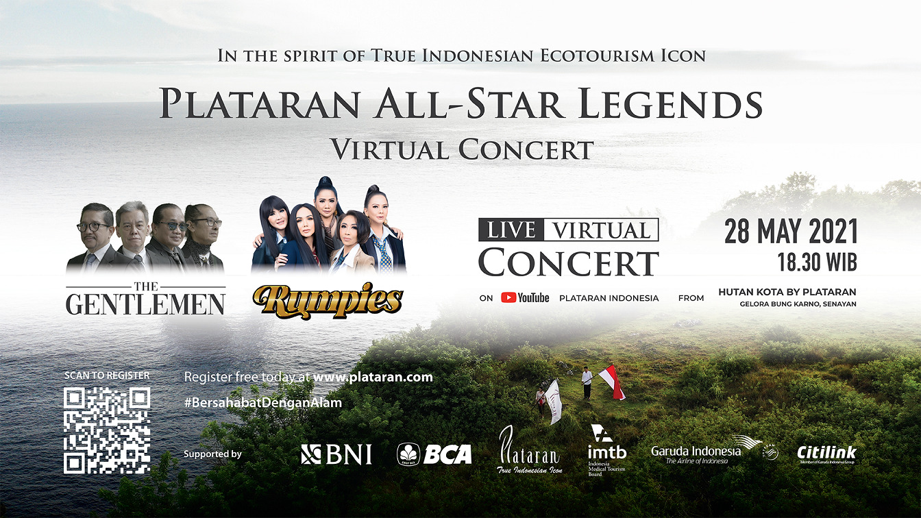 Plataran All-Star Legends LIVE Virtual Concert