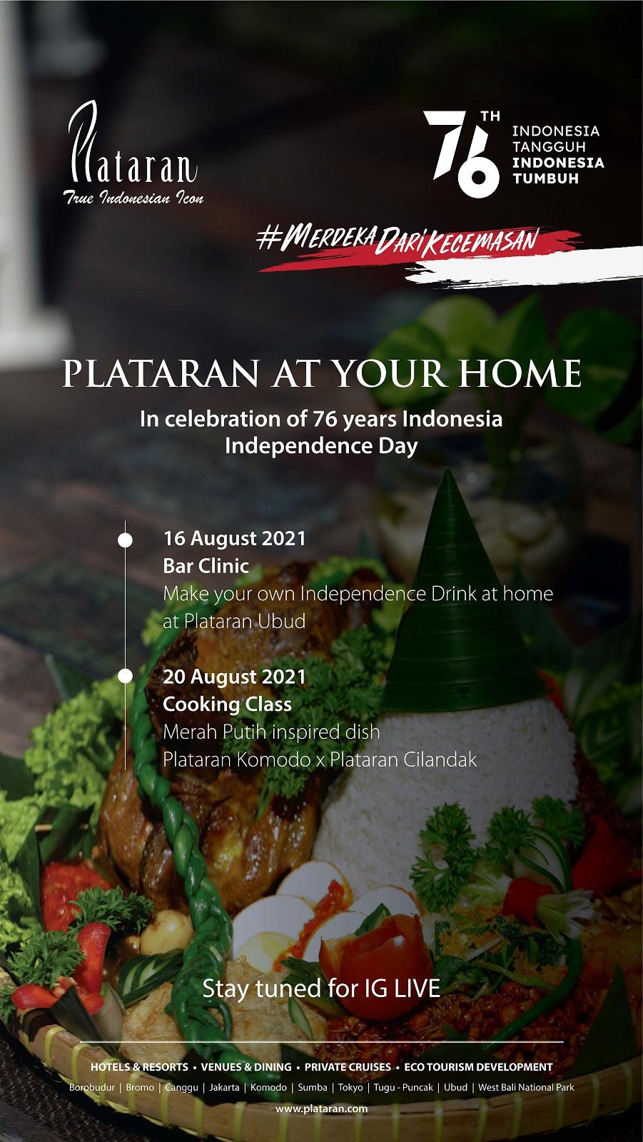 Plataran At Your Home